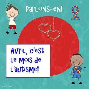Une affiche de sensibilisation sur l'autisme. Crédit Photo:SoleilpartageCameroun
