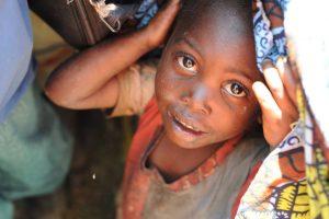 Portrait d'une petite fille. Flirck.cc
